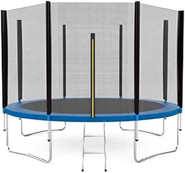Grupo K-2 - Cama Elástica trampolín con Red de Seguridad y Zona de Salto de 366 cm de diámetro (12 Ft)