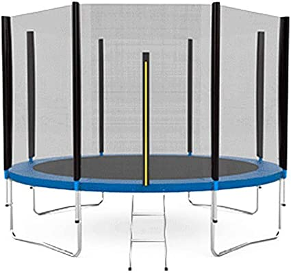 Cama elástica Azul con trampolín de 244 cm (8 ft) y Red Protectora ...