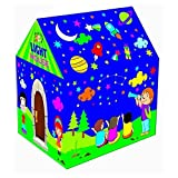 WonderKart Foldable Kids Play tent House With Led Light - Multi