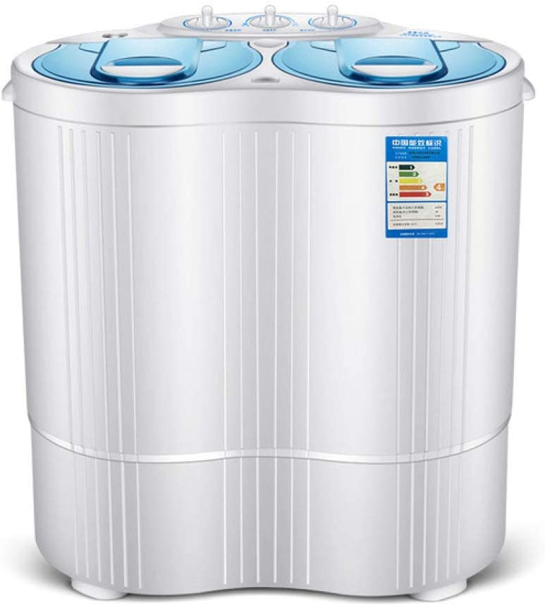 Lku 4.5kgs Changhong Lavadora portátil Doble Cilindro Mini Lavadora Lavadora y Secadora, UE