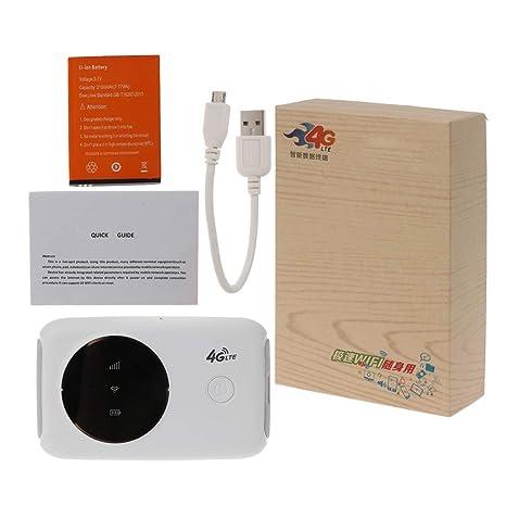 yinuneronsty Enrutador WiFi 4G 3G 4G LTE Inalámbrico ...