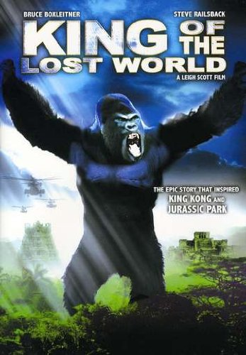 Poster of King of the Lost World 2005 Full Hindi Dual Audio Movie Download BluRay 720p
