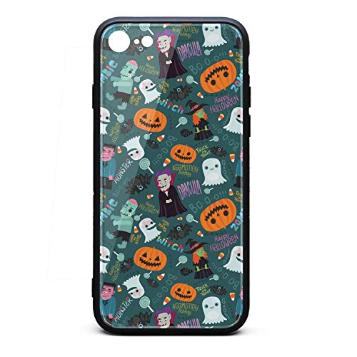 Happy Halloween Zombie I-Phone 7/8 Case Ultra-Thin Back Case Anti-Slip Fashion for I-Phone 7/8 ()