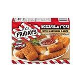 Tgi Fridays Mozzarella Sticks with Marinara Sauce Appetizer, 11 Ounce -- 8 per case.
