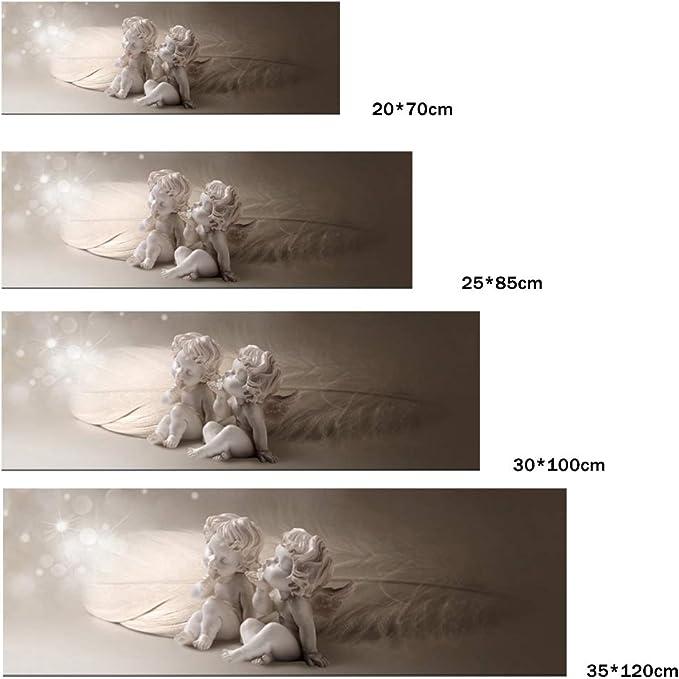 Belle gris ailes d/'ange toile photo #103 encadrée Shabby Chic Mur Art