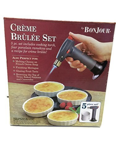 Bon Jour 5 Piece Creme Brulee Set - Bed Bath and Beyond.