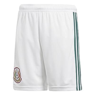 2018-2019 Mexico Home Adidas Football Shorts (Kids)