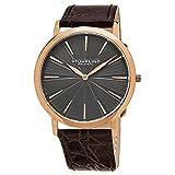 Stuhrling Original Men's 682.04 Orchestra Analog Display Swiss Quartz Brown Watch
