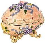 Design Toscano Renaissance Collection Romanov Style Enameled Egg: Couleur Rose