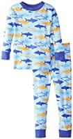 New Jammies Boys' Holiday Snuggly Pajama Set