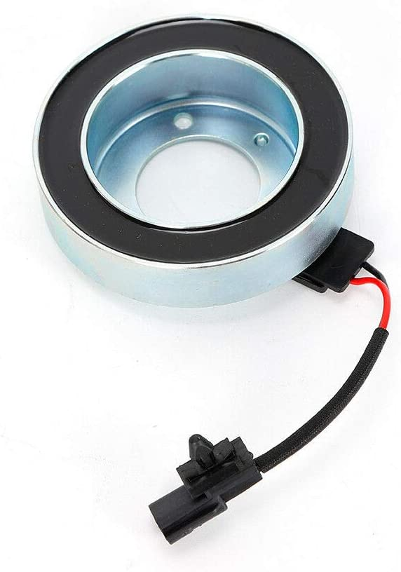 A//C AC Compressor Clutch Repair Kit for Nissan Rogue 2.5L 2008-2013 w//Plate Hub Pulley Bearing Coil