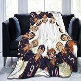 MAICICO Haikyuu Blankets,3D Printed Throws Plush