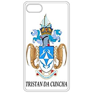 Trista Da Cuncha - Coat Of Arms Flag Emblem White Apple Iphone 4 - Iphone 4s Cell Phone Case - Cover