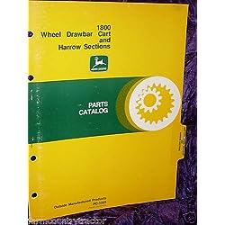 John Deere 1800 Wheel Drawbar & Harrow OEM Parts Manual