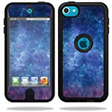 Mightyskins Protective Vinyl Skin Decal Cover for OtterBox Defender Apple iPod Touch 5G 5th Generation Case wrap sticker skins Nebula