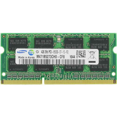 (4GB Samsung PC3-8500 (1066Mhz) 204 pin DDR3 SODIMM Laptop Computer Memory)