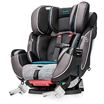 Evenflo Symphony DLX Platinum All In One Convertible Car Seat
