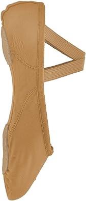 Bloch 210 Proflex Rose Toile Ballet Chaussures-Split Sole