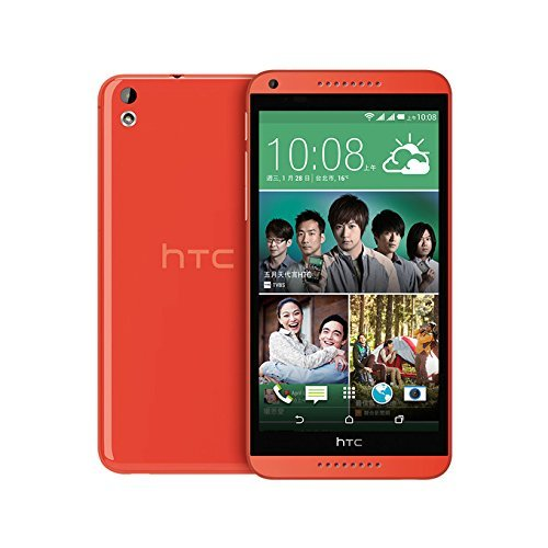 HTC Desire 816G (D816h) Factory Unlocked (3G dual-SIM | 16GB | Orange) - International Version No Warranty
