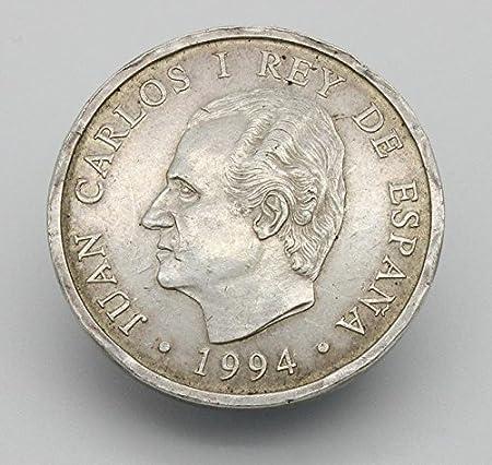 Desconocido Moneda de Plata de 200 Pesetas Rey Juan Carlos I: Amazon.es: Juguetes y juegos
