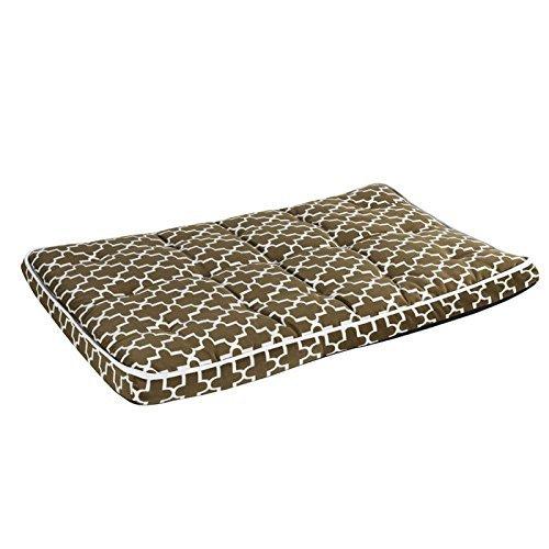 Luxury Crate Mattress in Cedar Lattice and Acorn Fabric