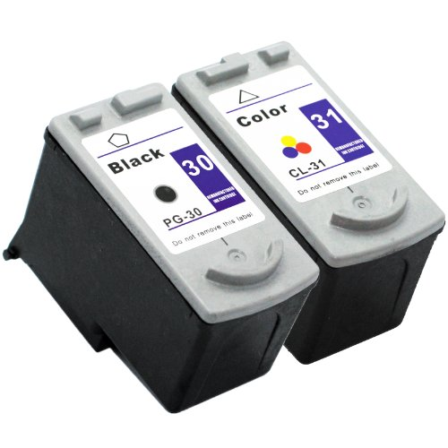 E-Z Ink (TM) Remanufactured Ink Cartridge Replacement for Canon PG-30 & CL-31 (1 Black, 1 Color)