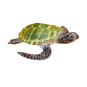Lead and BPA Free Materials Realistic Hand Painted Toy Figurine Model Leatherback Sea Turtle for Ages 3 and Up Quality Construction from Phthalate Safari Ltd