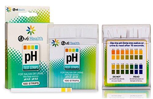 100 Ct Leading Popular pH Healthy Test Strips Alkaline Ma...