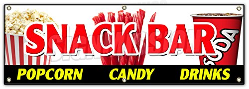 72-SNACK-BAR-CANDY-POPCORN-DRINKS-BANNER-SIGN-cold-sandwiches-kettle-corn
