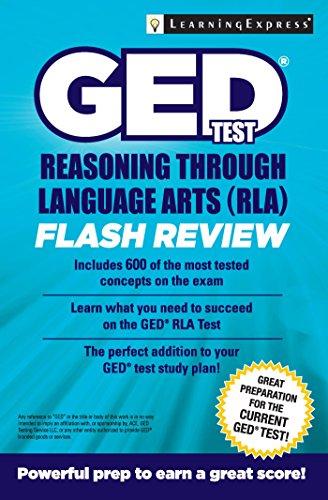 GED Test Reasoning Through Language Arts (RLA) Flash Review (1st 2015) [LearningExpress]