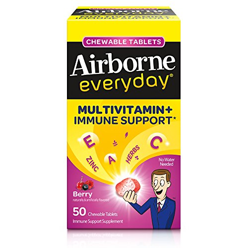 Airborne Everyday Berry Chewable Tablets
