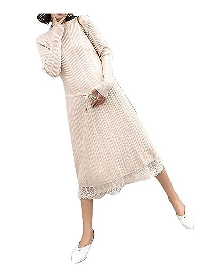 Maternité Winte Enceinte Robe Élégante Tricoter Automne À Femmes XiPkTOZu