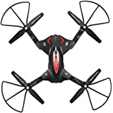 Skytech TK110HW WIFI FPV With 720P HD Camera Foldable 2.4GHz 6 Axis Gyro RC Quadcopter (Black)