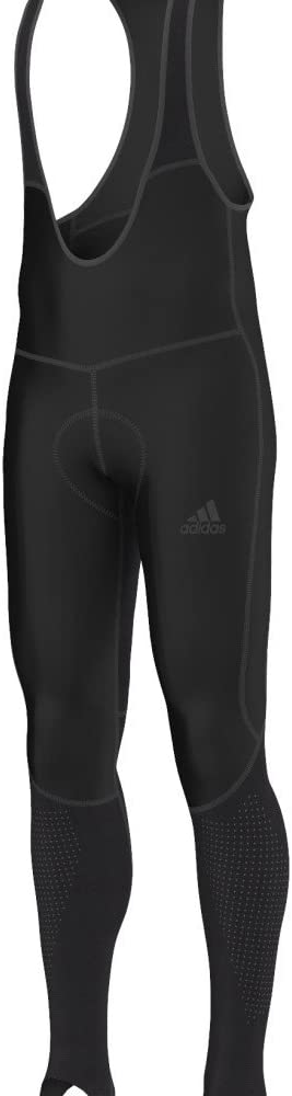 adidas Performance Mens AdiStar Belgements Sports Active Cycling Jersey Black