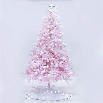 Rosa Weihnachtsbaum.Amazon De Dw Hx Rosa Weihnachtsbaum 210cm 6 9 Ft Scharnier