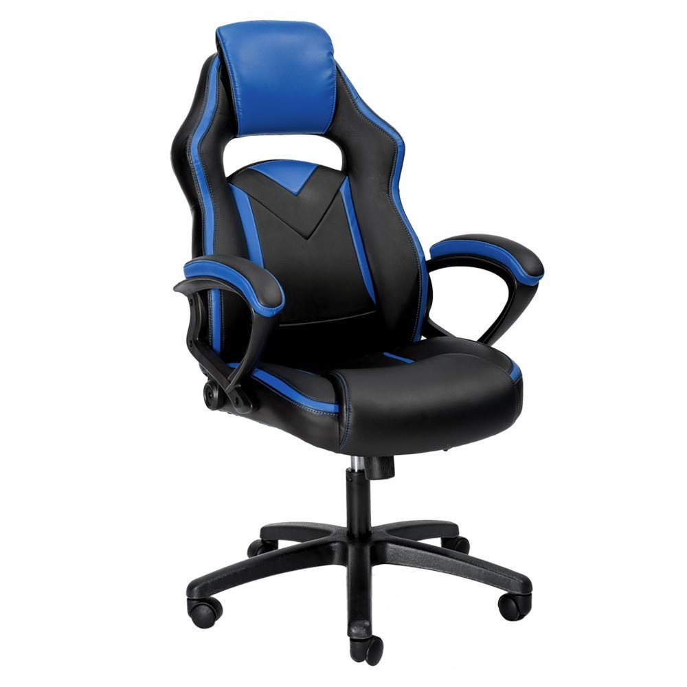 Peachy Pc Gaming Chair Racing Executive Office Chair Ergonomic High Back Reclining Computer Chair With Arm Rest Tall Comfortable For Adults Teens Kids Machost Co Dining Chair Design Ideas Machostcouk