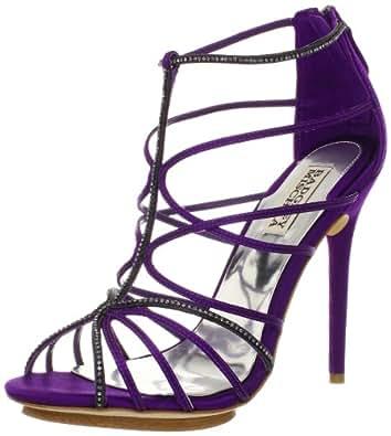 Badgley Mischka Women's Nisha Sandal,Purple,5 M US