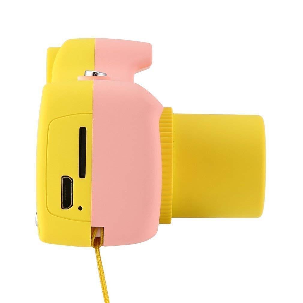 ZEERKEER HD Mini Digital Video Cameras,Kids Childrens Point and Shoot Digital Video Camera Recorders Cute Birthday for Kids (Pink) by ZEERKEER (Image #5)