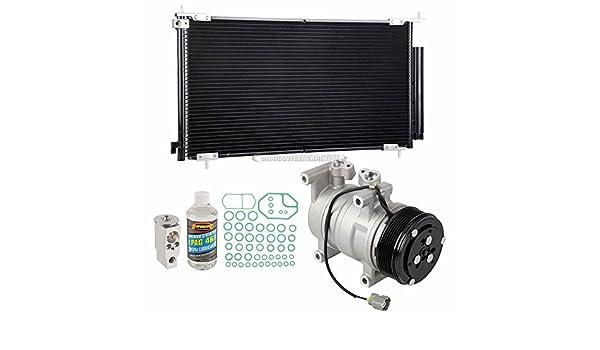 Nueva AC Compresor y embrague con completa a/c Kit de reparación para Honda CRV CR-V - buyautoparts 60 - 80501r6 nuevo: Amazon.es: Coche y moto