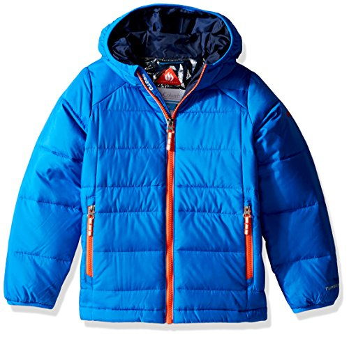 Columbia Boys Turbodown Hooded Jacket