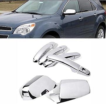 2pcs Left /& Right Set For Toyota Tundra 2007-2013 Full Chrome Mirror Cover