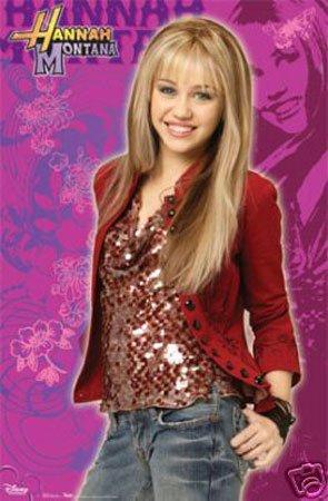 Hot Stuff Enterprise 2854-24x36-MV Hannah Nontana and Miley Cyrus Poster