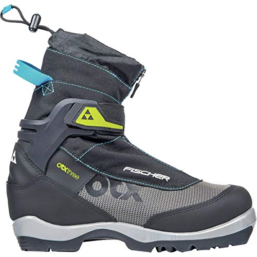 Fischer Offtrack 3 Backcountry My Style Boot - Women's Black/Silver/Blue, -