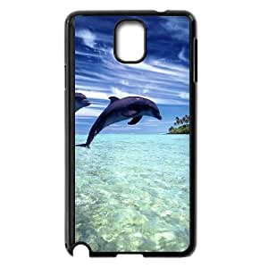 Dolphin Samsung Galaxy Note 3 Cell Phone Case Black JD7677678