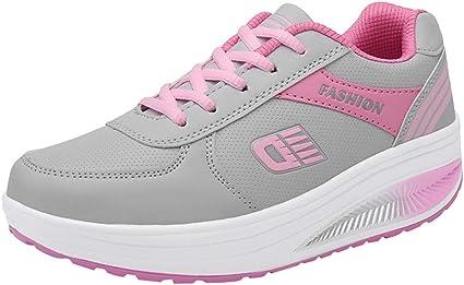 Bluestercool - Zapatillas de running para mujer, de moda, cómodas, suaves, deportivas y deportivas: Amazon.es: Instrumentos musicales