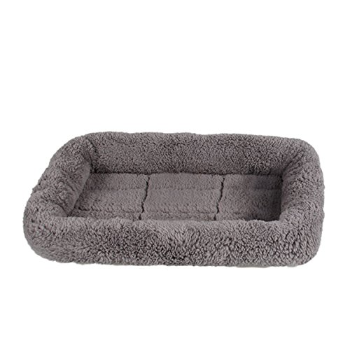 (LESYPET Small Dog Crate Cotton Washable Mat Small)