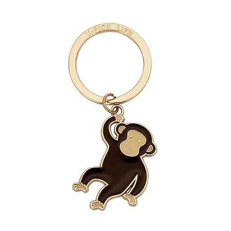 CKH Llavero de la serie del mono Llavero creativo de la ...