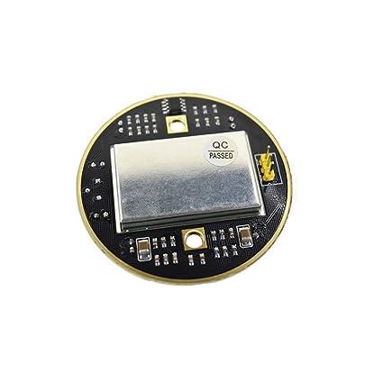 HB100 X 10.525 GHz Microondas Sensor 2-16M Radar Doppler Módulo de inducción del Cuerpo Humano para ardunio: Amazon.es: Electrónica