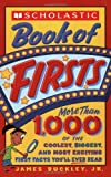 img - for Scholastic Book Of Firsts book / textbook / text book