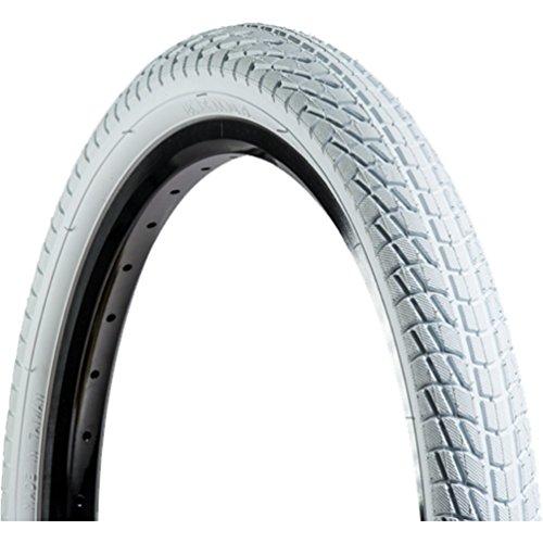 White Bike Tires - Kenda Freestyle - Kontact (White/White) 20 x 1.95